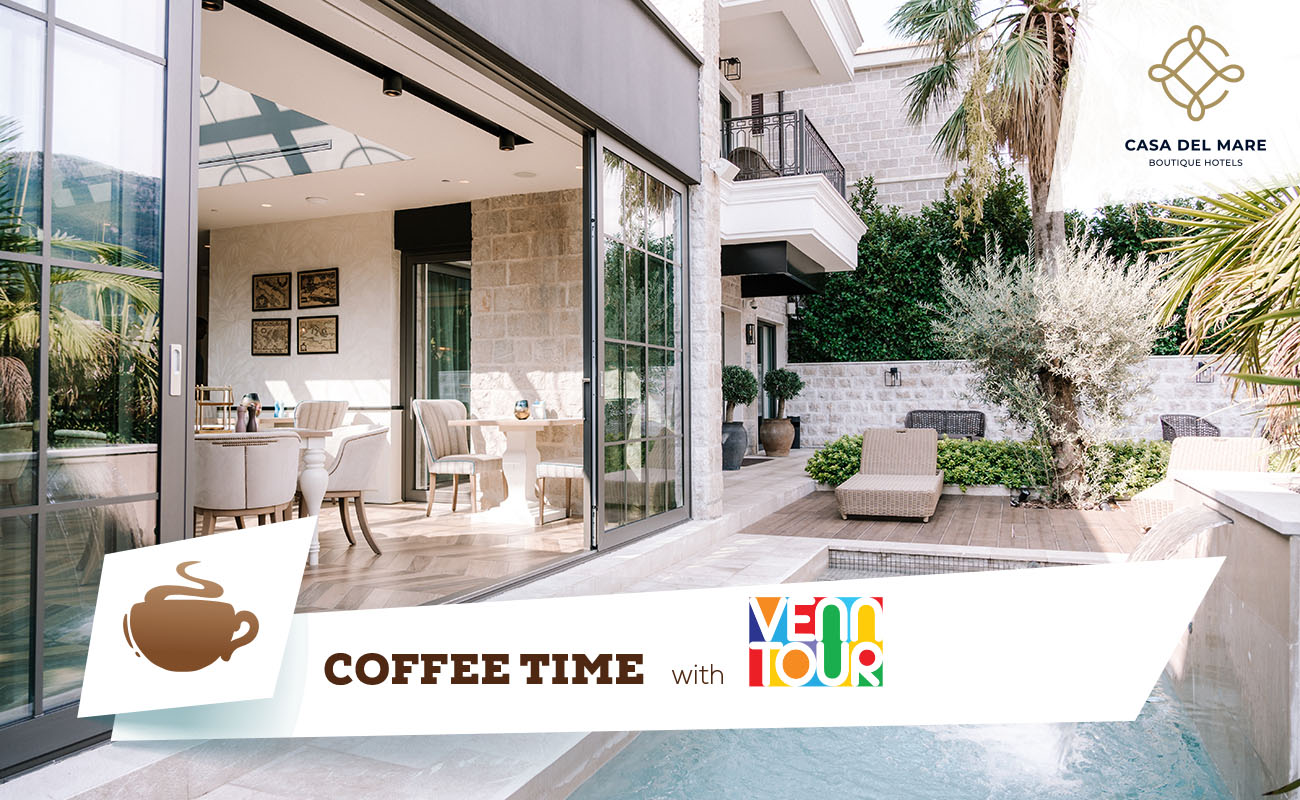 Coffee time with Venn Tour: Casa del Mare Boutique hotels